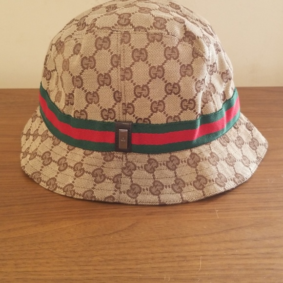 Gucci Accessories - Gucci Monogram Bucket Hat 9610c070d93